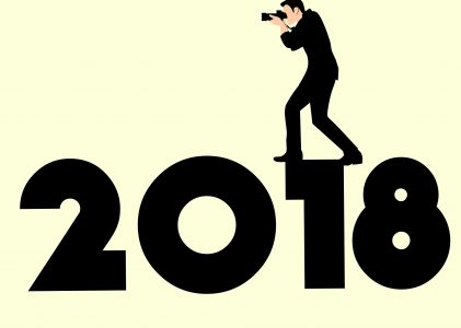 The year that will be….2018.